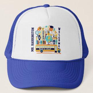 Boné De volta aos chapéus conhecidos feitos sob