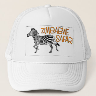 Boné de Zimbabwe do safari da zebra