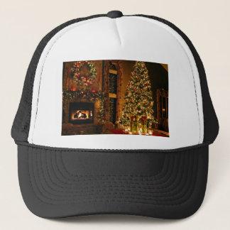 Boné Decorações do Natal - árvore de Natal