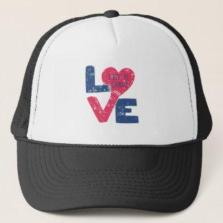Boné deixe-nos compartilhar do amor