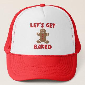 Boné Deixe-nos obter chapéus engraçados cozidos do