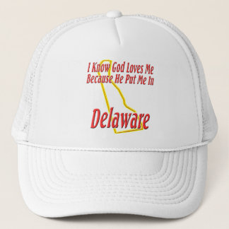 Boné Delaware - o deus ama-me