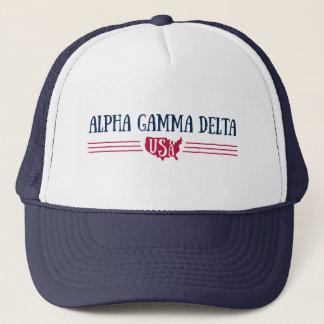 Boné Delta alfa EUA da gama