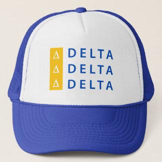 Boné Delta | do delta do delta empilhado