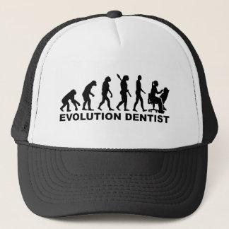 Boné Dentista da fêmea da evolução