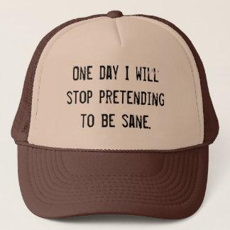 Boné (dentro) sanidade - fingindo ser chapéu são