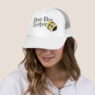 Boné Depositário engraçado da abelha ocupada