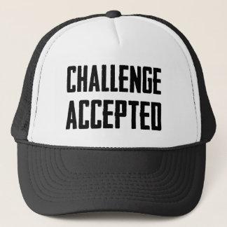 Boné Desafio aceitado