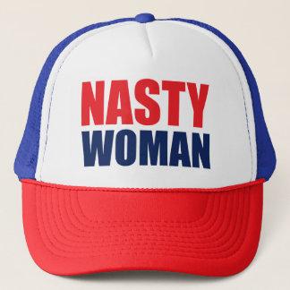 Boné desagradável do chapéu do camionista da
