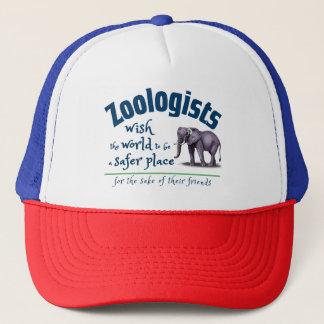 Boné Desejo do Zoologist o mundo um lugar mais seguro