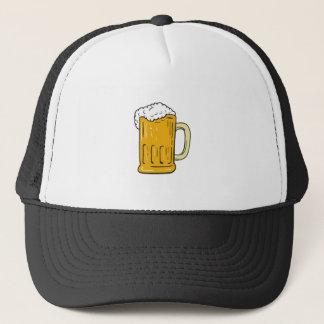 Boné Desenho da caneca de cerveja