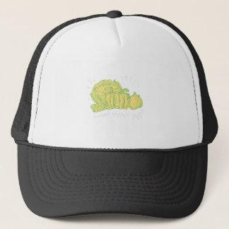 Boné Desenho da cebola do capsicum de Brocolli