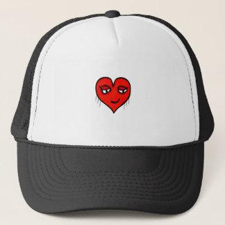 Boné Desenho de caráter do coração