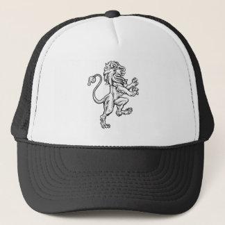 Boné Desenho heráldico do estilo do leão