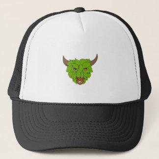 Boné Desenho principal verde de Bull