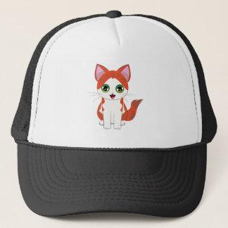 Boné Desenhos animados do gatinho do gengibre