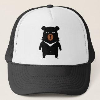 Boné Desenhos animados do urso preto