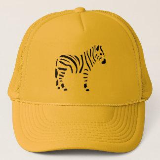 Boné Desenhos animados dos animais das zebras da zebra