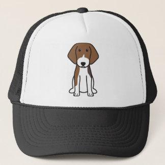 Boné Desenhos animados estónios do cão de cão