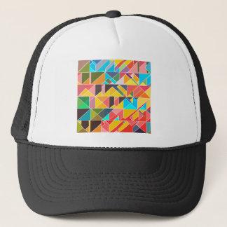 Boné Design abstrato triangular