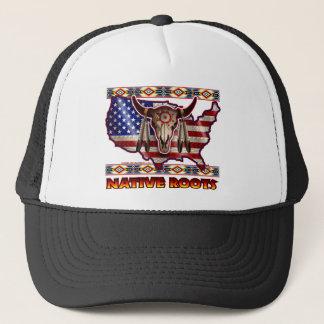 Boné Design americano dos EUA das raizes do nativo