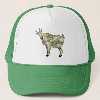 Boné Design animal da cabra psicadélico engraçada da