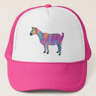 Boné Design animal engraçado da cabra Multicoloured da