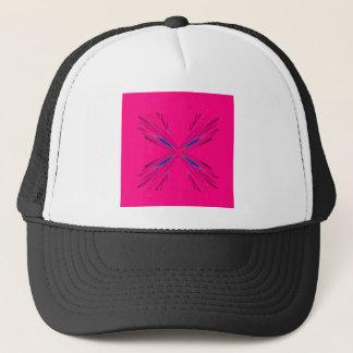 Boné Design cor-de-rosa da mandala