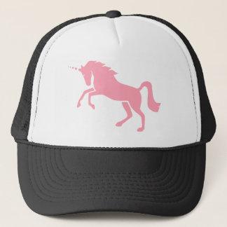 Boné Design cor-de-rosa mitológico grego do unicórnio