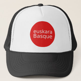Boné Design da língua Basque