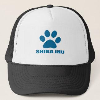 BONÉ DESIGN DO CÃO DE SHIBA INU