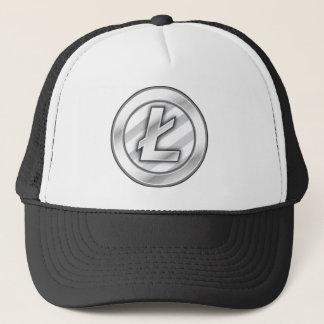 Boné Design do chapéu de Litecoin