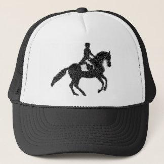 Boné Design do mosaico do cavalo e do cavaleiro do