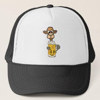 Boné Design engraçado da cerveja do bebendo do camelo