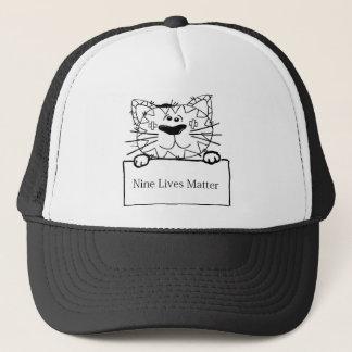 Boné Design engraçado do gato