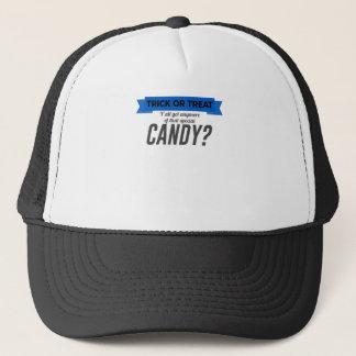 Boné Design especial do Dia das Bruxas dos doces da