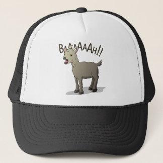 Boné Design gritando do macarronete do Doodle da cabra