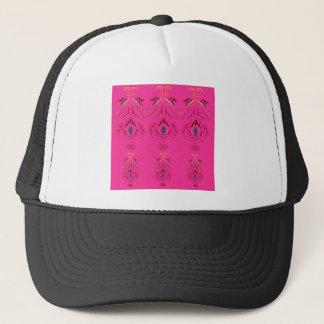 Boné Design maravilhoso cor-de-rosa dos povos dos