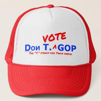 Boné Destruição de Don T. Voto GOP/trem - chapéu