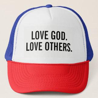 Boné Deus do amor. Amor outro. chapéu