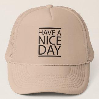 Boné Dia agradável