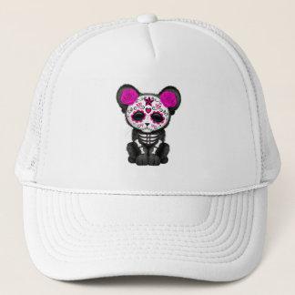 Boné Dia cor-de-rosa da pantera preta inoperante Cub