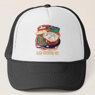 Boné Dia da clam chowder - dia da apreciação