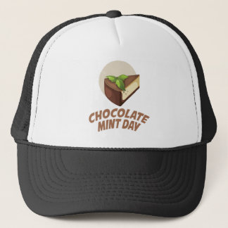 Boné Dia da hortelã do chocolate - dia da apreciação