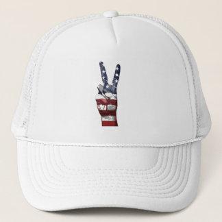 Boné Dia da Independência chapéu da paz do 4 de julho