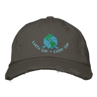 Boné Dia da Terra ambiental
