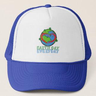 Boné Dia da Terra: Mantenha o verde & o reciclado da