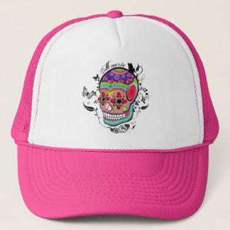 Boné Dia de Muerte do chapéu inoperante do crânio!