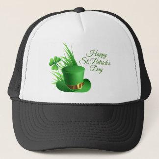 Boné Dia de São Patrício feliz, santo irlandês do
