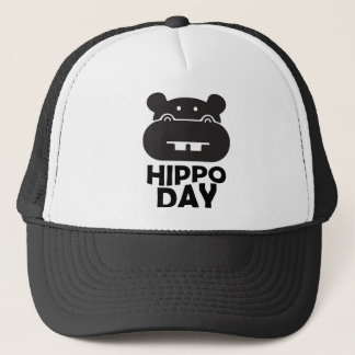 Boné Dia do hipopótamo - 15 de fevereiro